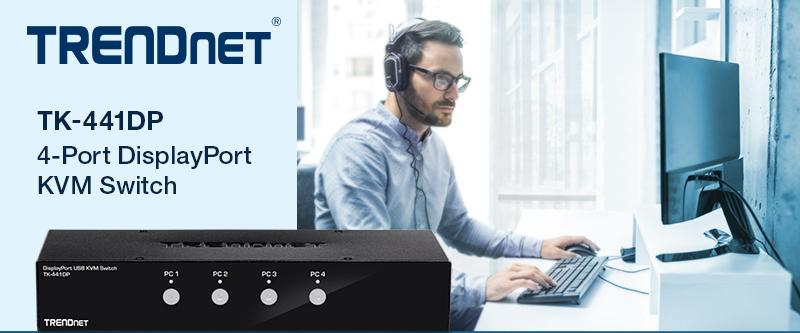 2 Port KVM TRENDnet
