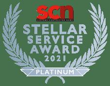 2021 Stellar Service Award - PLATINUM