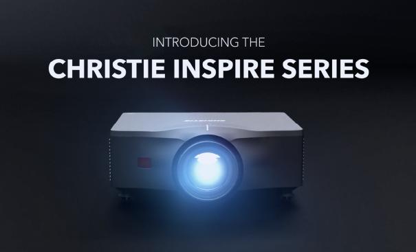 Christie Inspire Series_300DPI video