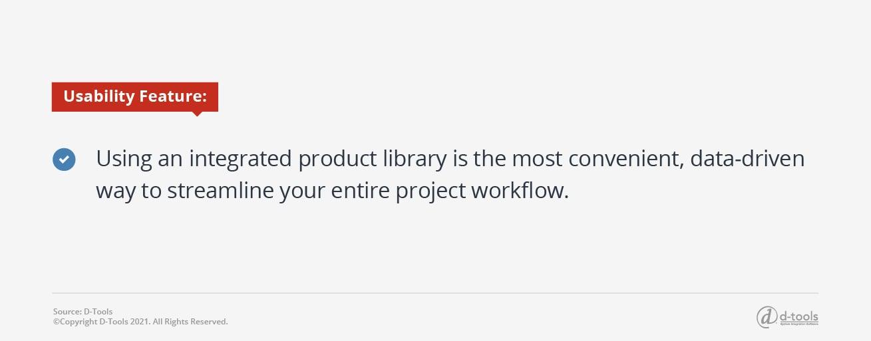 D-tools: Security Integrators - product library