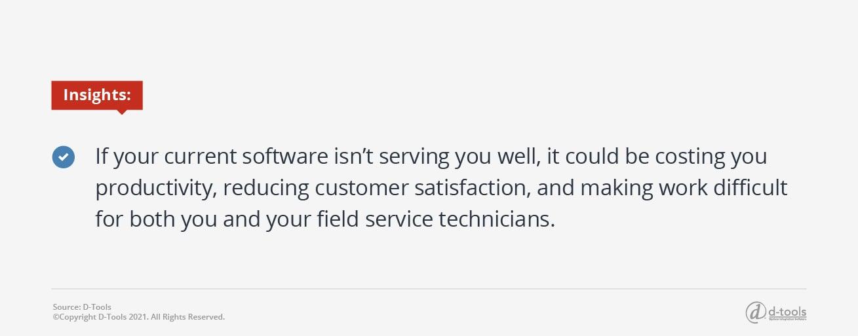 D-tools: field service productivity tips - Insights