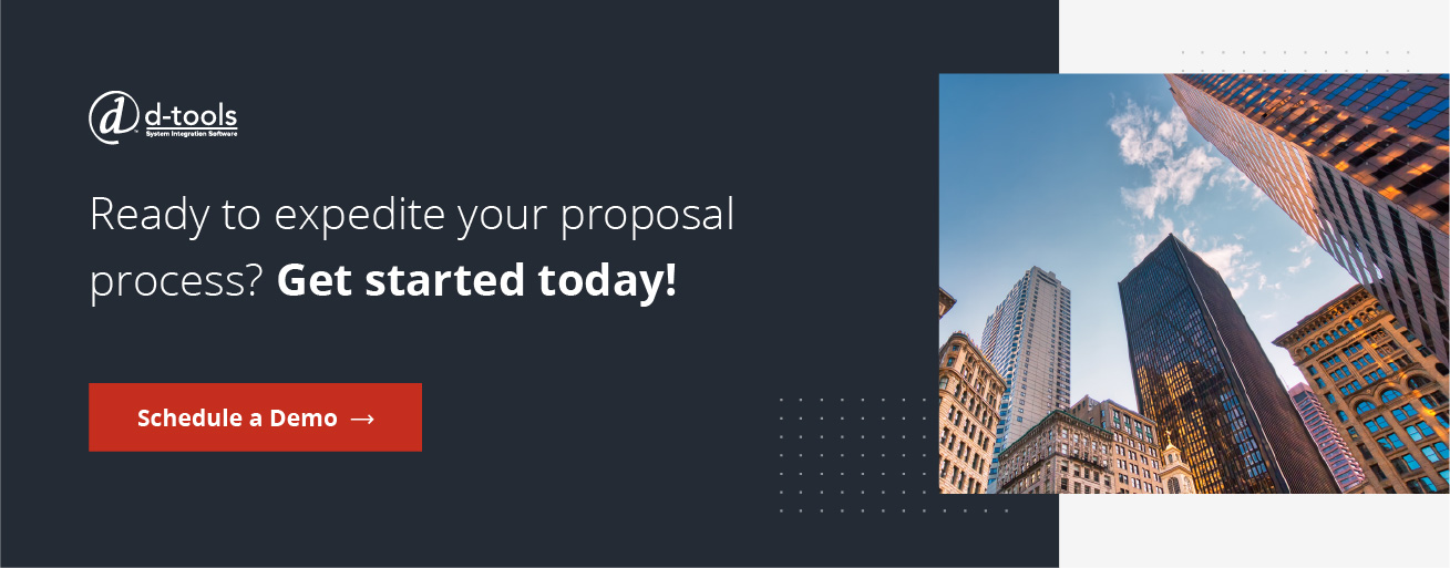 Ready to expedite your proposal process? Get started today! Schedule a Demo.