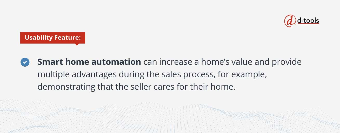 D-tools: Selling Home Automation Systems - smart home automation 2
