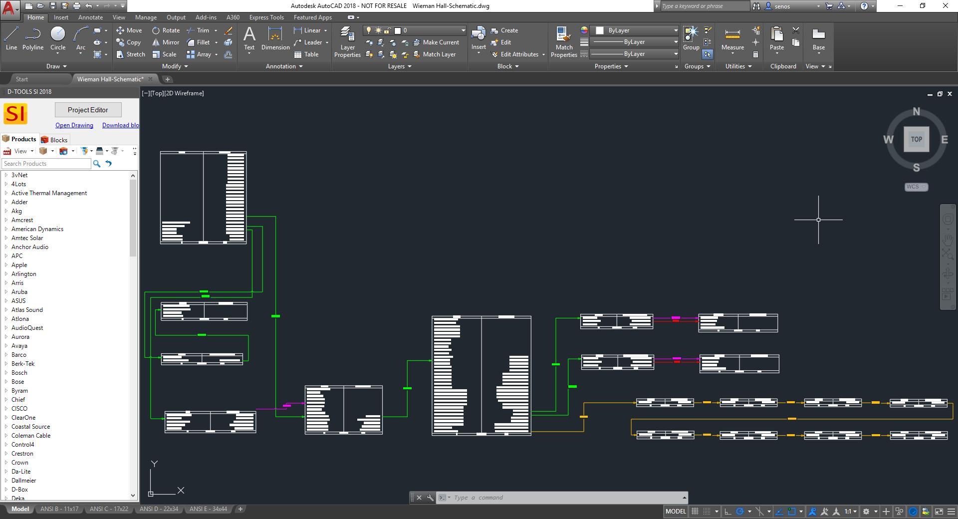 AutoCAD-Schematic